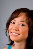 De Aziatische Vrouw van Yound Royalty-vrije Stock Afbeelding