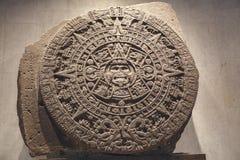 De Azteekse Kalender Stock Afbeeldingen