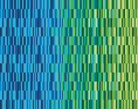De azul al verde stock de ilustración