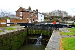 De bästa låsen, Lathom, Lancashire, England Arkivfoto