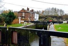 De bästa låsen, Lathom, Lancashire, England Royaltyfri Foto