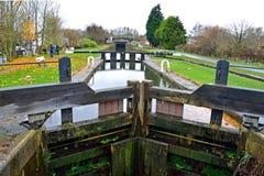 De bästa låsen, Lathom, Lancashire, England Fotografering för Bildbyråer