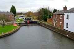 De bästa låsen, Lathom, Lancashire, England Arkivbild