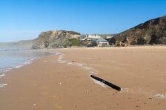 De Baai Cornwall van de sluisdeur Royalty-vrije Stock Foto