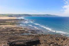 De Baai Cornwall van Widemouth Royalty-vrije Stock Afbeeldingen
