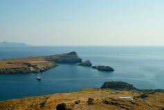 De Baai in de Middellandse Zee Stock Fotografie