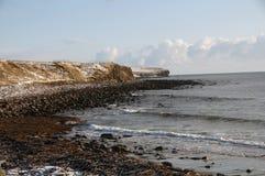 De Baai die van Freswick het noorden kijkt royalty-vrije stock afbeeldingen