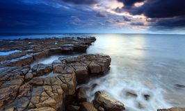 De baai Dorset van Kimmeridge Stock Foto
