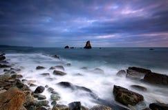 De Baai Dorset van Mupe Stock Afbeeldingen