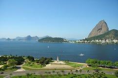 De Baai en het suiker-Brood van Guanabara Stock Afbeelding