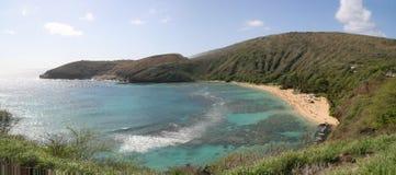 De Baai Oahu Hawaï van Hanauma Stock Afbeeldingen