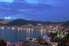 De baai van Acapulco Stock Fotografie
