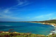 De Baai van Ballenas, Guanica, Puerto Royalty-vrije Stock Foto