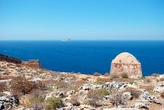 De baai van Balos. Kreta. Griekenland Stock Foto
