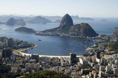 De Baai van Botafogo royalty-vrije stock afbeeldingen