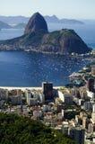 De Baai van Botafogo Stock Foto