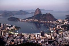 De Baai van Botafogo royalty-vrije stock afbeelding