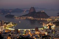 De Baai van Botafogo Royalty-vrije Stock Fotografie