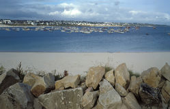 De baai van Bretagne Stock Afbeelding