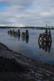 De Baai van Cardiff Stock Fotografie