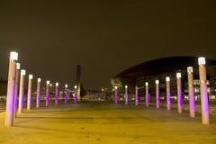 De Baai van Cardiff stock afbeelding