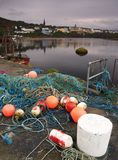 De baai van Clifden Stock Foto