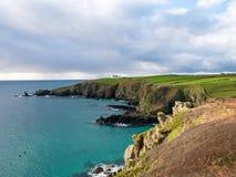 De Baai van Cornwall Stock Foto's