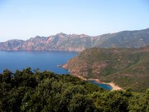 De baai van Corsica royalty-vrije stock foto
