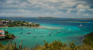 De Baai van Cruz - St John royalty-vrije stock fotografie