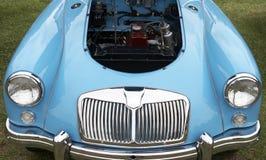 De baai van de auto en van de motor Stock Foto's