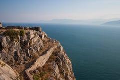 De baai van de Peloponnesus Stock Afbeeldingen