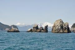 De Baai van de verrijzenis in Alaska Stock Foto