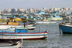 De baai van de visser stock afbeelding
