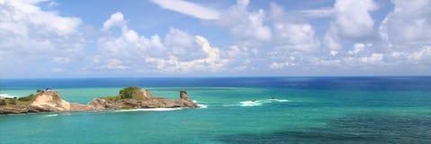 De Baai van Dennery - Heilige Lucia Stock Fotografie