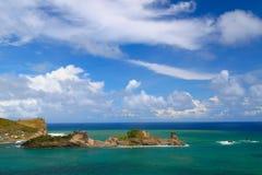 De Baai van Dennery - St Lucia royalty-vrije stock afbeelding