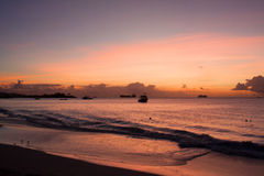 De Baai van Dickenson, Antigua Royalty-vrije Stock Fotografie