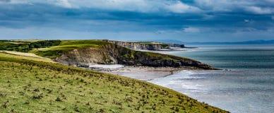 De Baai van Dunraven Royalty-vrije Stock Afbeelding