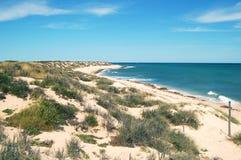 De Baai van Exmouth, Australië De Reserve van het schildpadpark stock afbeelding