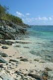 De Baai van Genti, St. John, USVI Stock Foto's