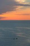 De Baai van Ghajntuffieha Royalty-vrije Stock Afbeeldingen