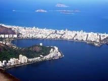De Baai van Guanabara Stock Afbeeldingen
