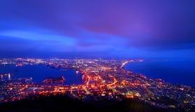 De Baai van Hakodate, Japan Royalty-vrije Stock Fotografie