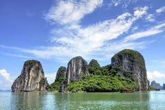 De Baai van Halong Royalty-vrije Stock Foto