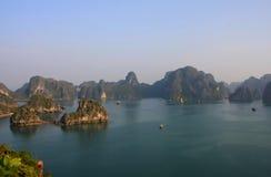 De Baai van Halong Stock Afbeelding