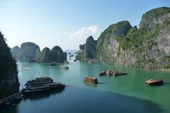 De Baai van Halong, Vietnam Royalty-vrije Stock Afbeelding