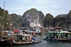 De Baai van Halong, Vietnam royalty-vrije stock fotografie