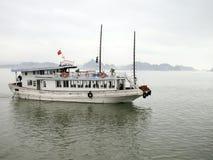 De Baai van Halong, Vietnam. Royalty-vrije Stock Afbeeldingen
