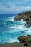 De Baai van Hanauma, Hawaï Royalty-vrije Stock Foto's