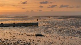 De Baai van Herne, Kent, Engeland, het UK stock foto
