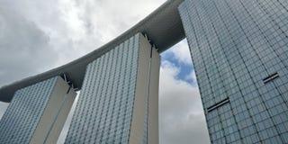 De Baai van de jachthaven schuurt Singapore stock afbeelding